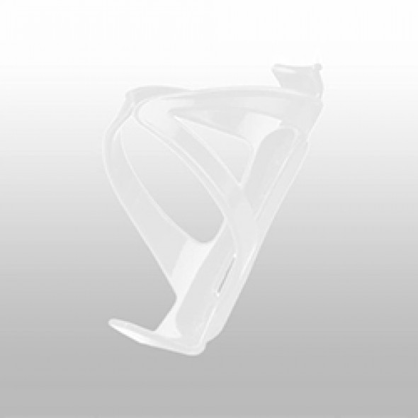 Bottle Cage Plastic White with Screws