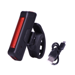 REAR LIGHT RECHARGEABLE BLACK