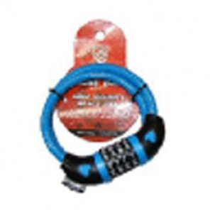 SP LOCK CABLE COMBINATION BLU 8314-IMP